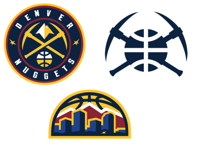 Reviewing the new Denver Nuggets logos and uniforms.