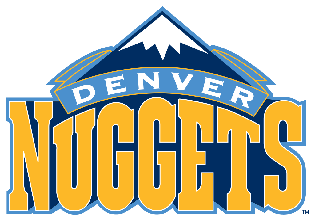 Denver Nuggets Logo transparent PNG.