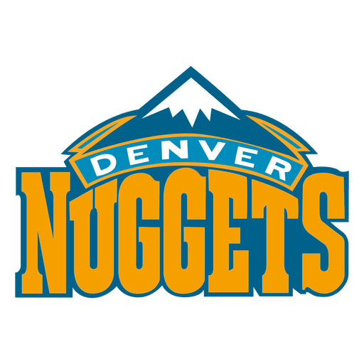Denver nuggets logo.