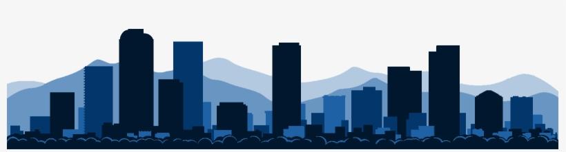 Denver Skyline Drawing.