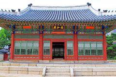 Korea Deoksugung Palace Stock Photo.