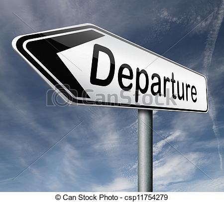 Clipart depart.