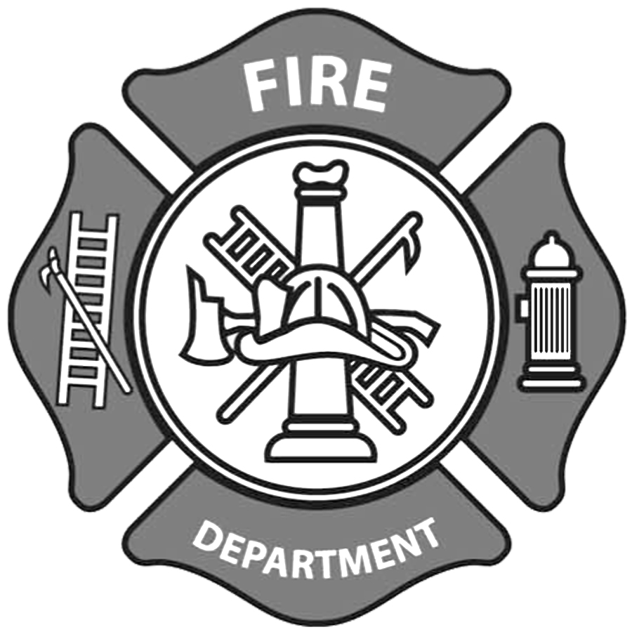 Fire department emblem clip art.