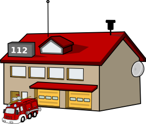 Fire department clip art.