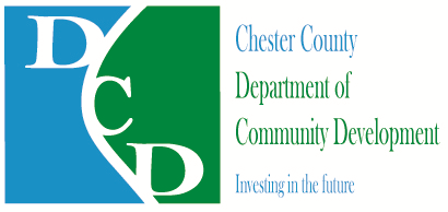 Chester County Department of Community Development logo.
