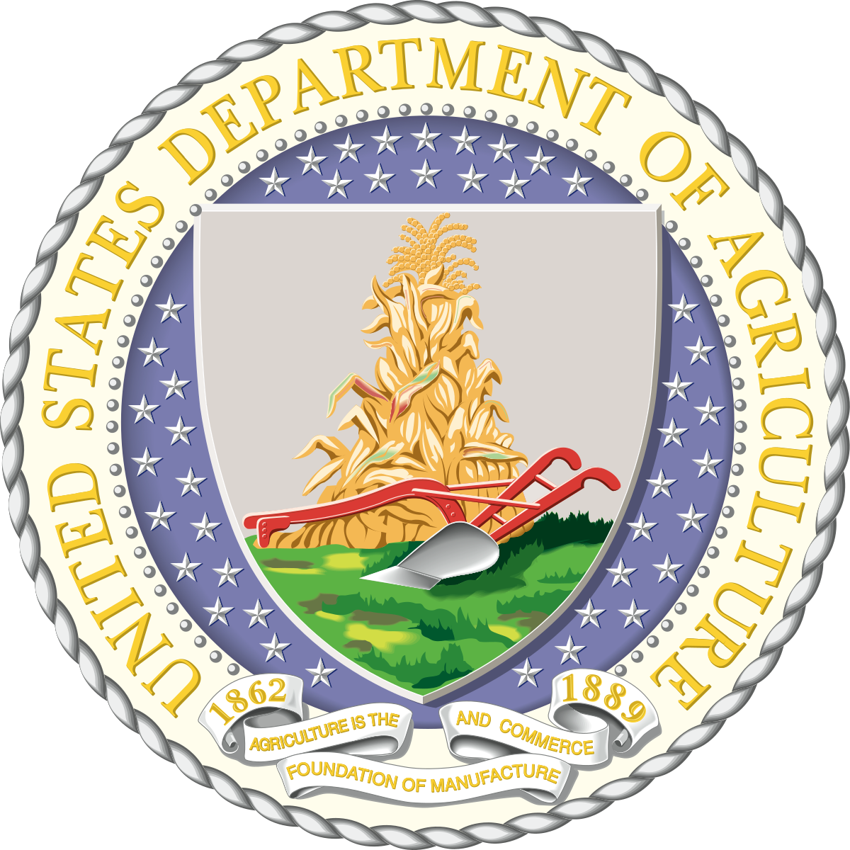 United States Department of Agriculture.