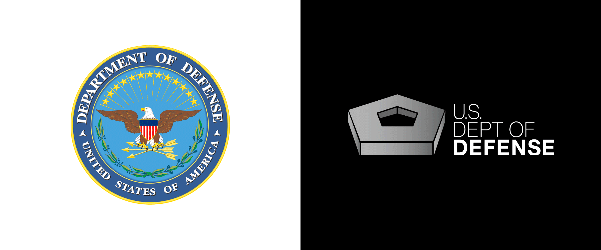 Brand New: New Logo for U.S. Department of Defense.