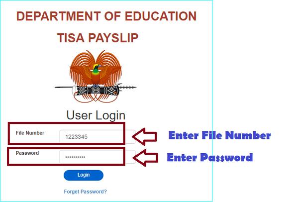 MyPaySlip App for PNG Teachers & Public Servants.