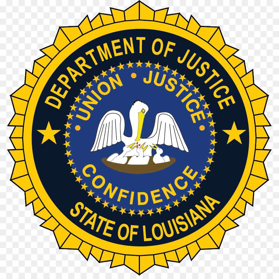 Department Of Justice Yellow png download.
