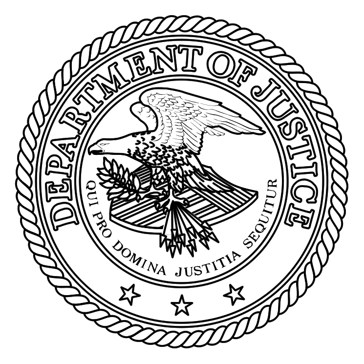 Department of justice (85693) Free EPS, SVG Download / 4 Vector.