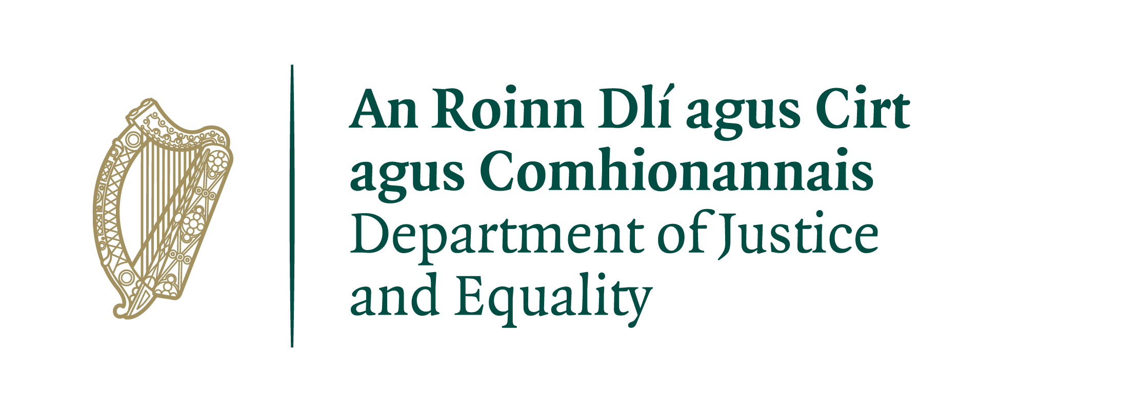 Department of Justice and Equality.