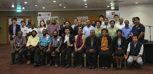 JICA PNG Office and GoPNG Annual Project Review Meeting.