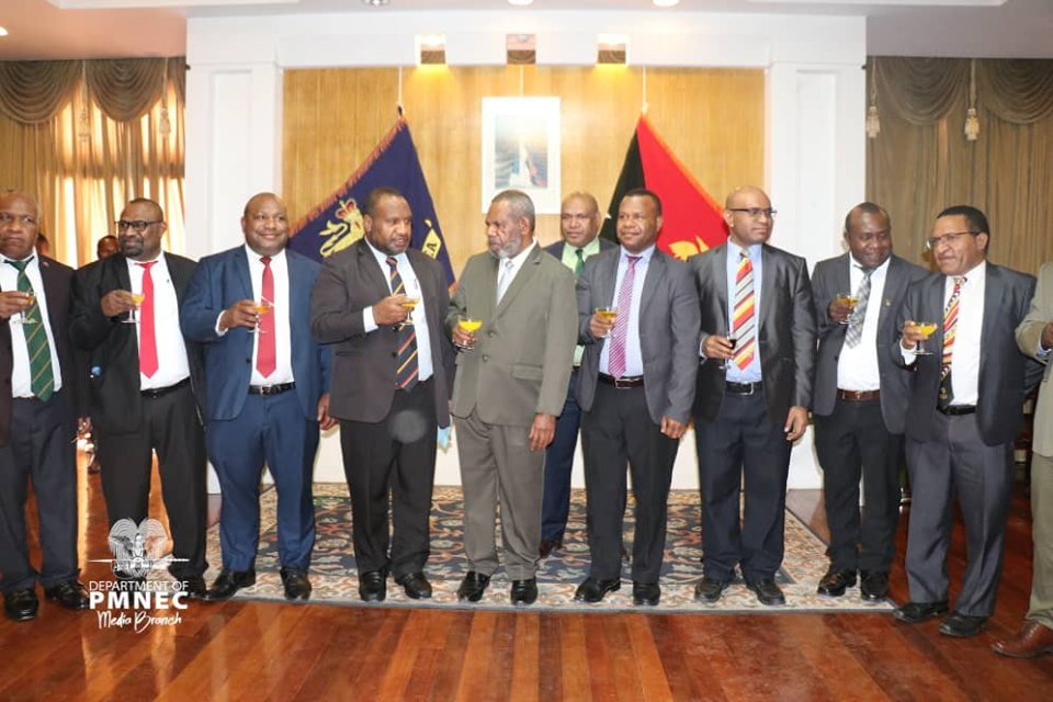 PNG PM Marape announces Vice Minister's Designations.