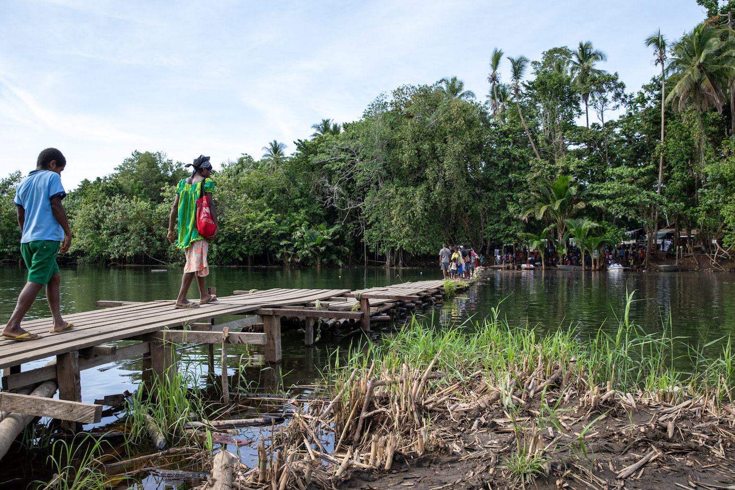 In PNG, a fallen bridge is testament to the chasm in rural development.