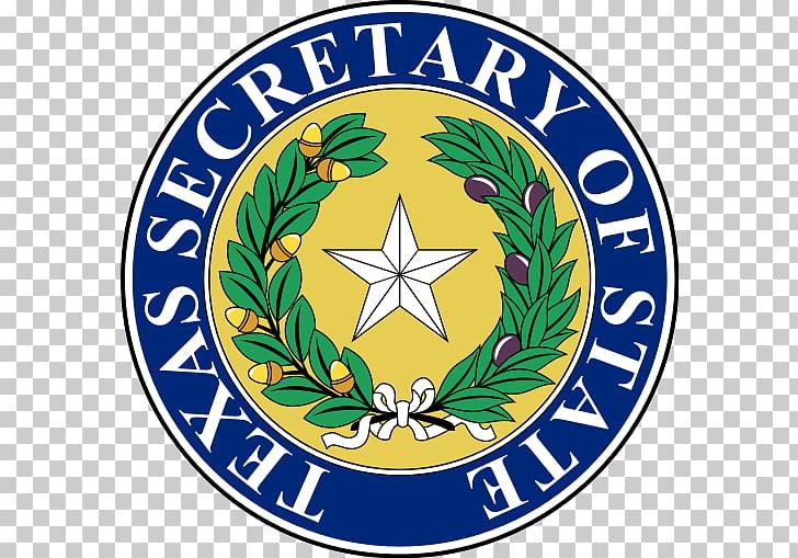 Secretary of State of Texas Texas Senate Seal of Texas.