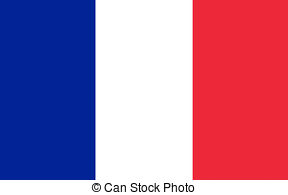 Drawing of Flag of Vaucluse, France.