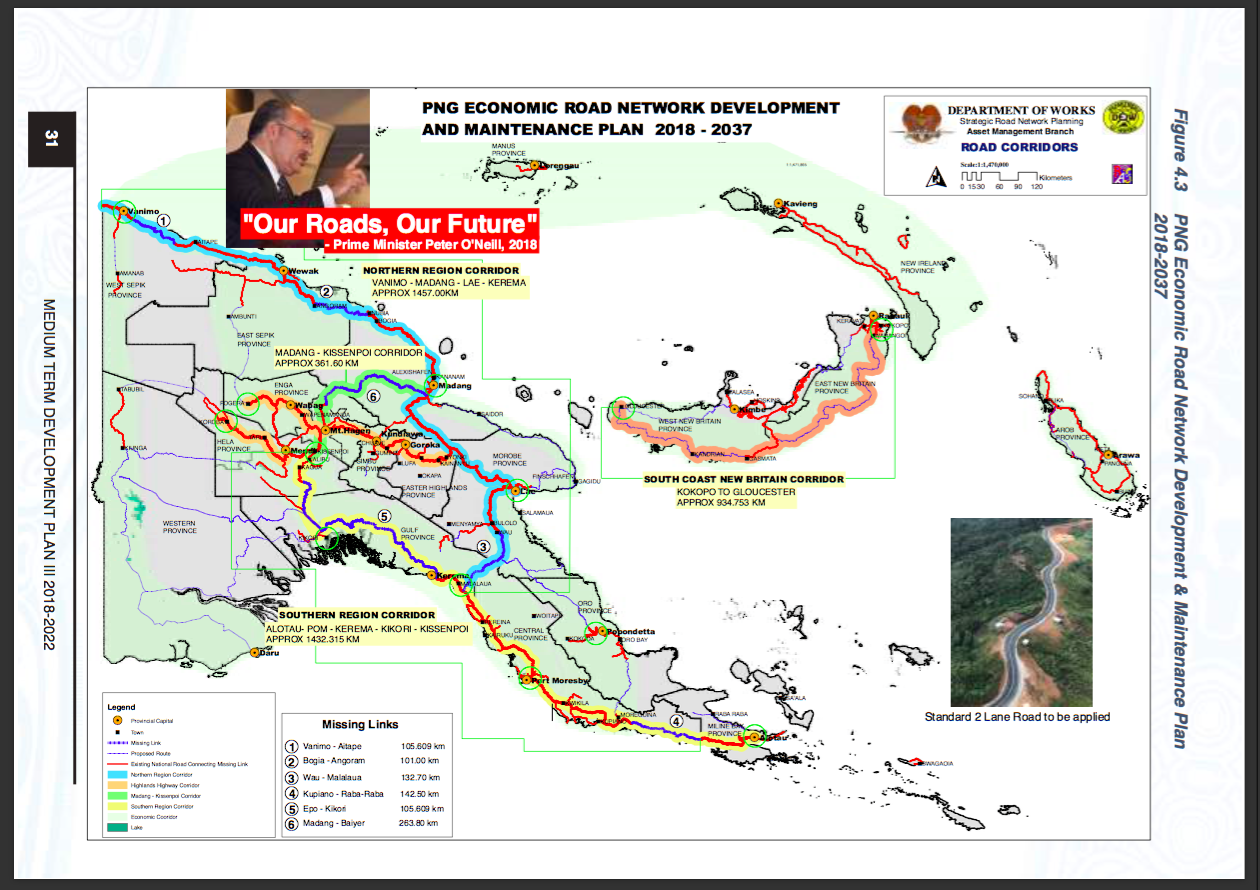 New roads for PNG: Path to progress or to environmental devastation?.