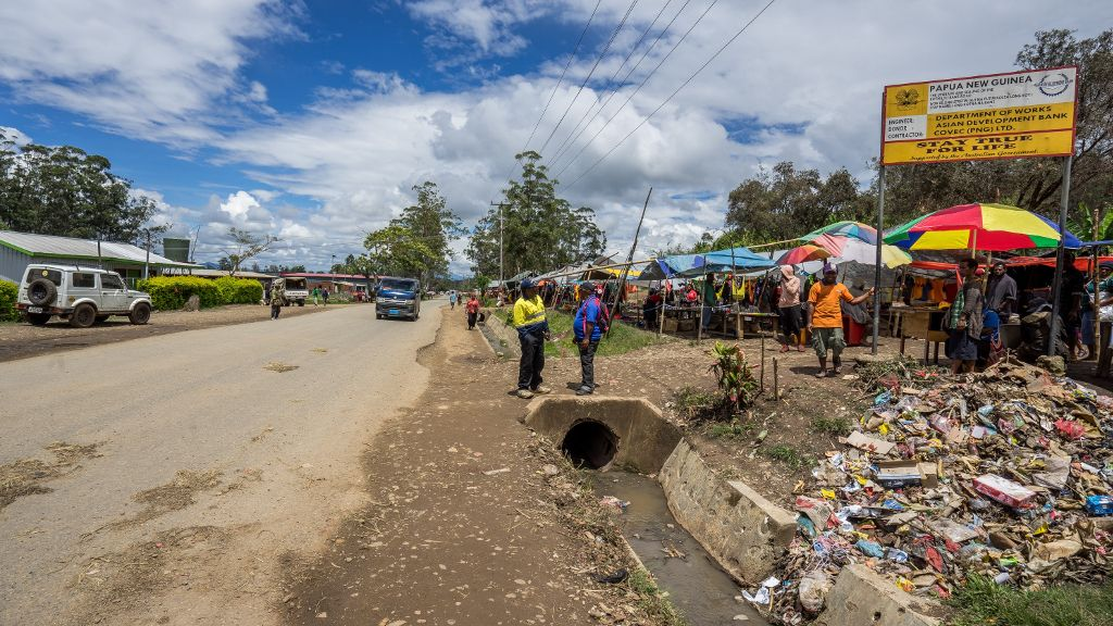ADB Approves New Facility to Upgrade, Maintain PNG Highlands Highway.