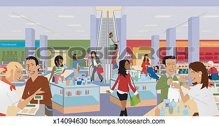 Department Store Clip Art.