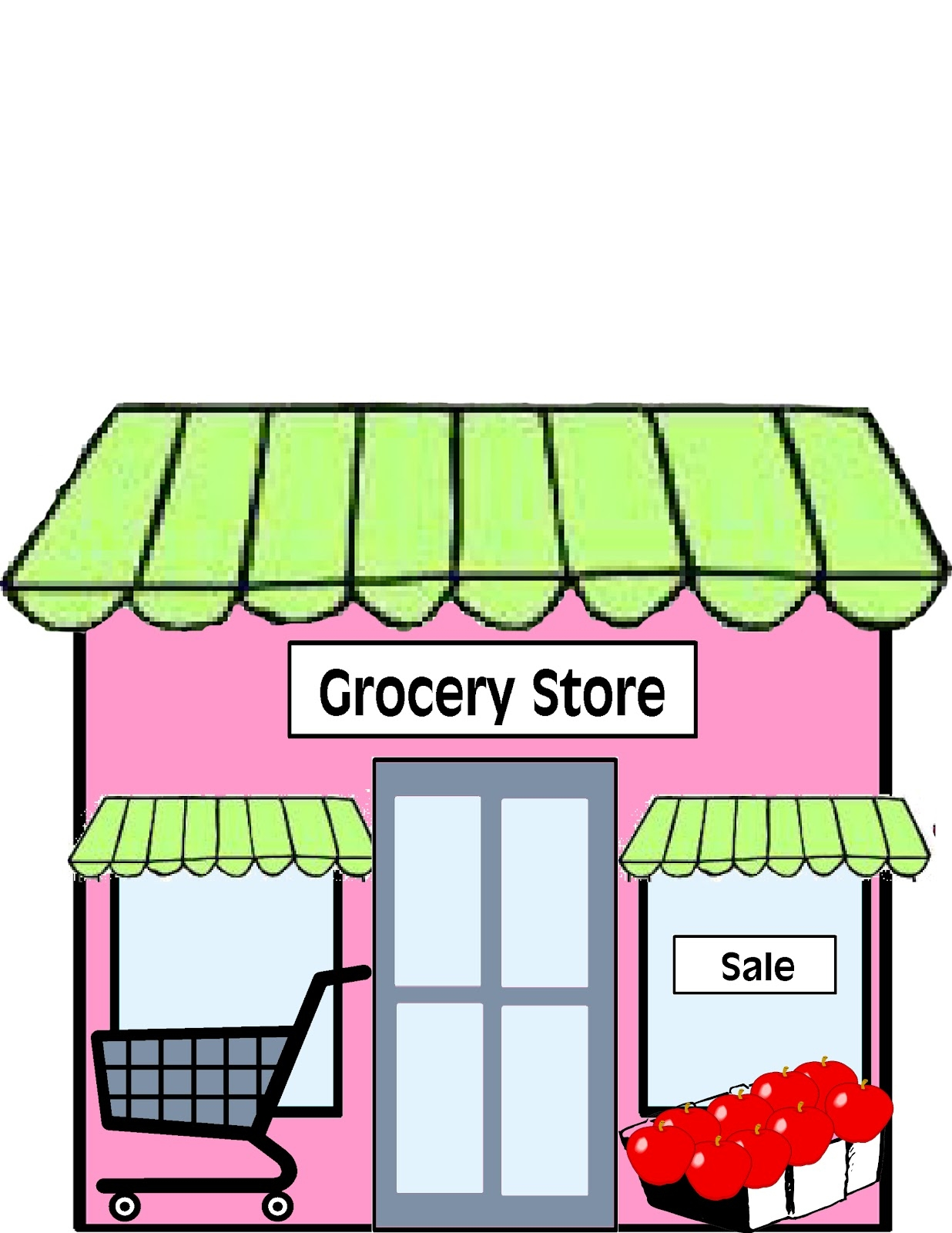 Department Store Clip Art Free.
