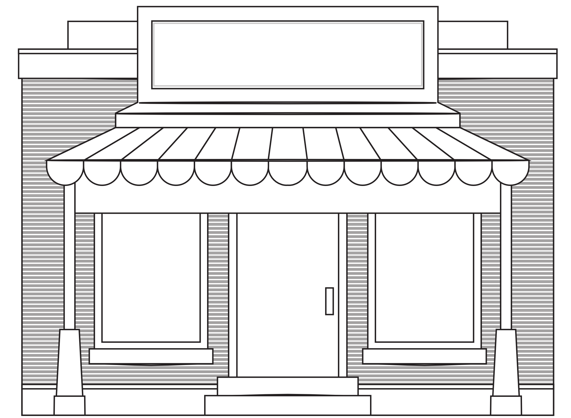 Stores Clipart.