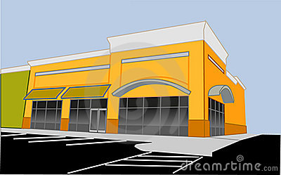Clipart retail store.