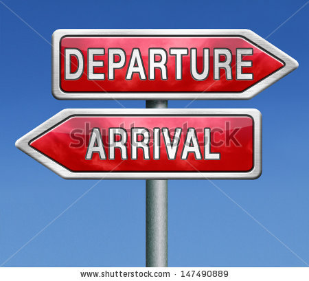 Departures And Arrivals Flight Information About Departure And.