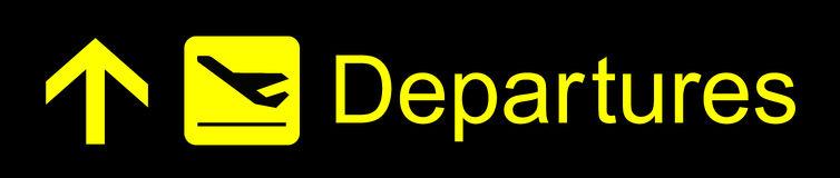 Departures Stock Illustrations.