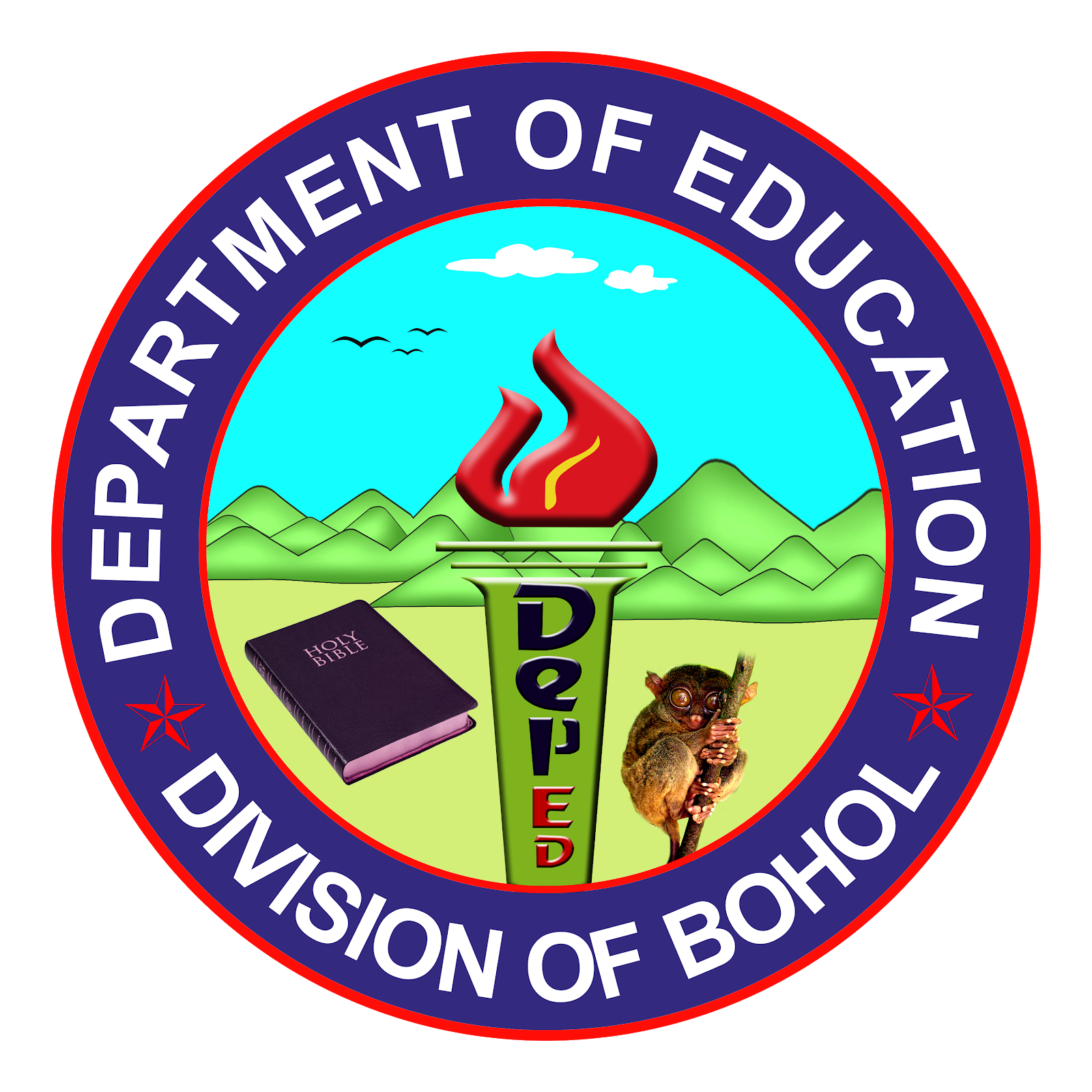 jomarie designs: deped logo.