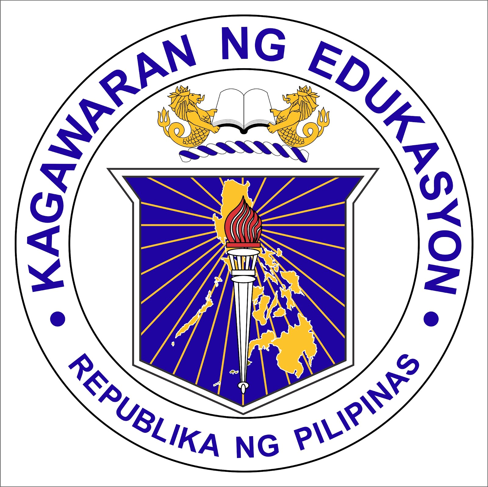 New DepEd Logo 2012 DepEd Seal.