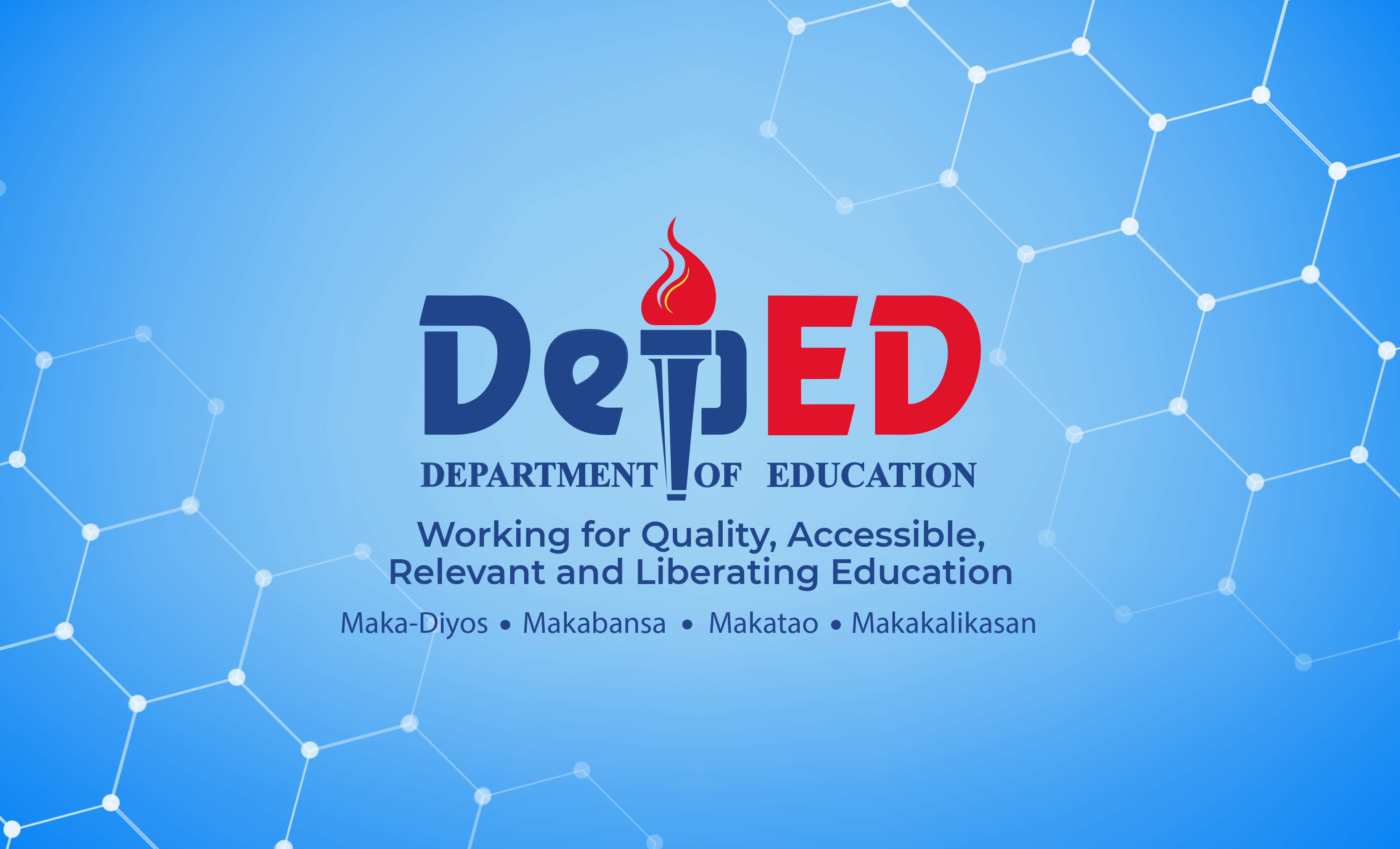 Official Wallpapers for laptops and desktop PCs issued by the DepEd.