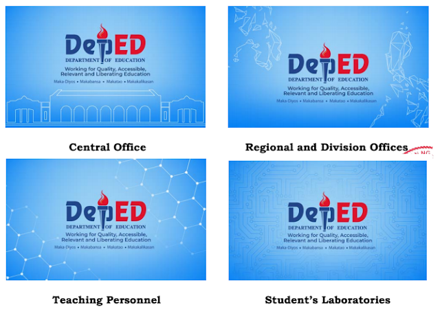 Official Wallpapers for Laptops & Desktop PCs issued by the DepEd.
