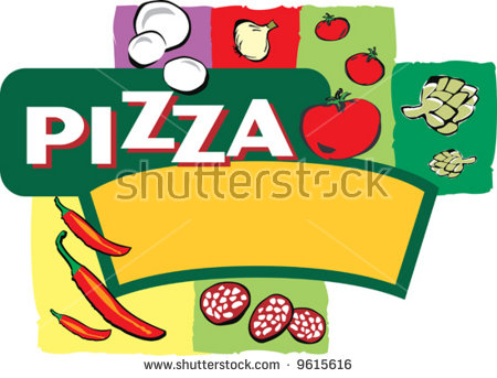 Clipart Depicting Insignia Pizza Stock Photos, Royalty.