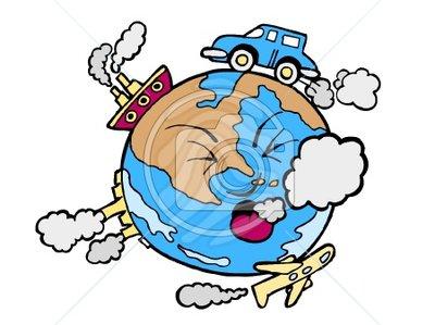 Ozone depletion clipart.