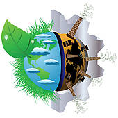 Clip Art of Extraction of natural resources k13392688.