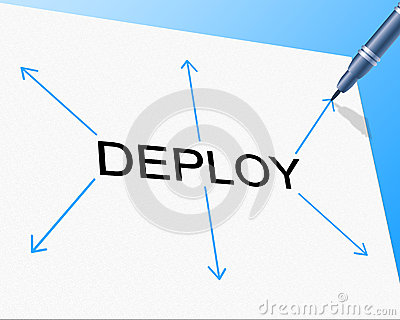Deploy Deployment Shows Put Into Position And Install Stock.