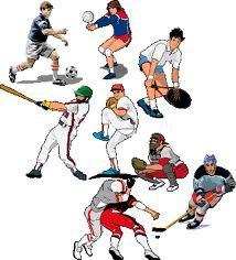 Practicar Deportes Clipart.