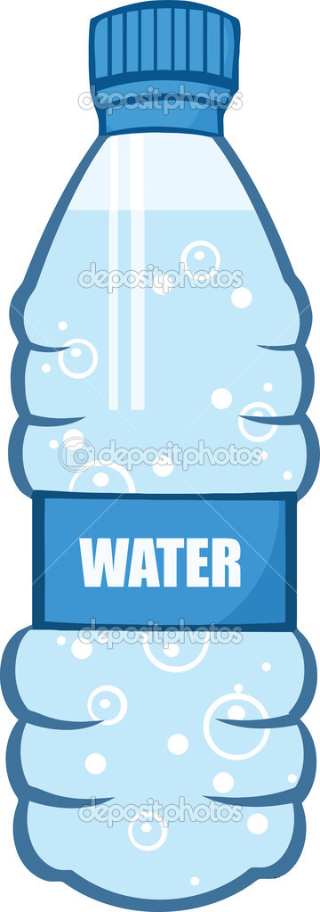 Cartoon Water Bottle — Stock Photo © HitToon #29806087.
