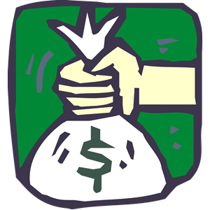Money Bag Icon clipart, cliparts of Money Bag Icon free.