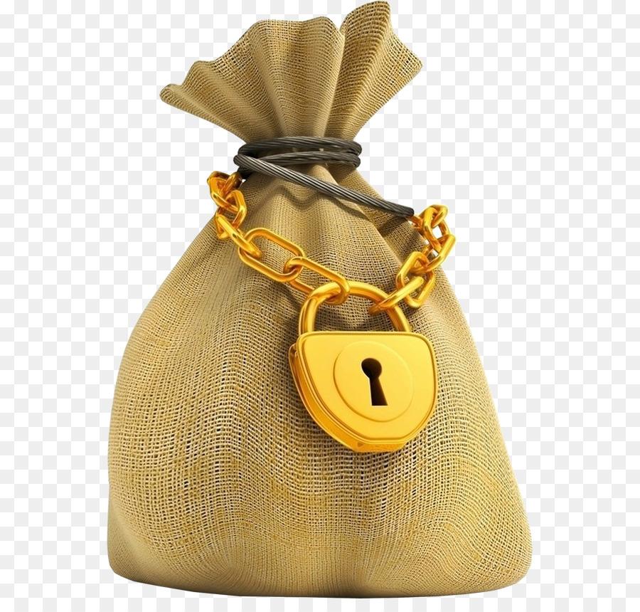 Money Bag png download.