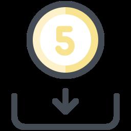 Deposit Icons.