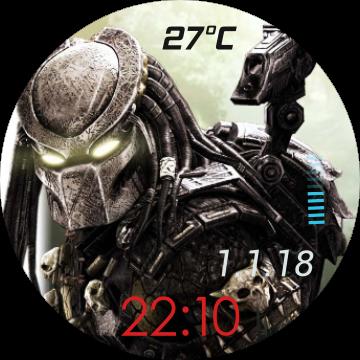 Depredador for Huawei Watch.
