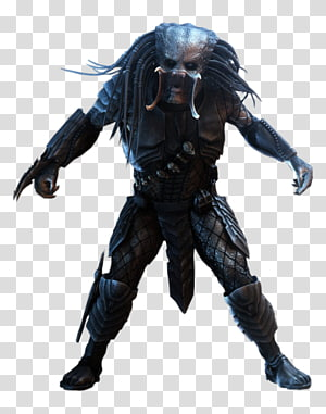 Fictional character, Alien vs Predator transparent background PNG.