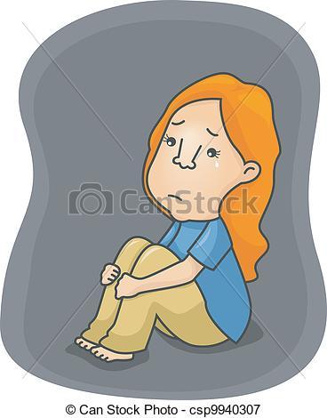 Depressed Clipart.