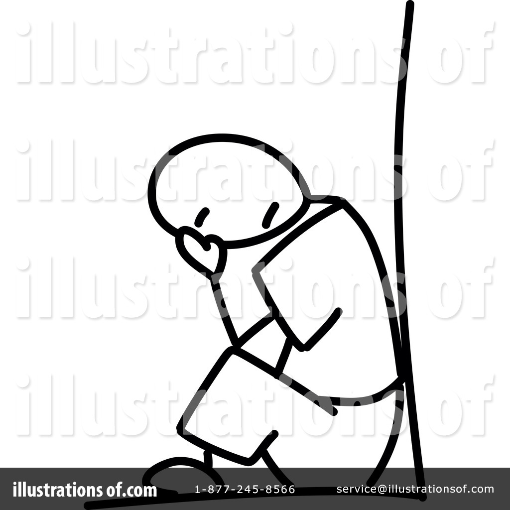 Depression Clipart.