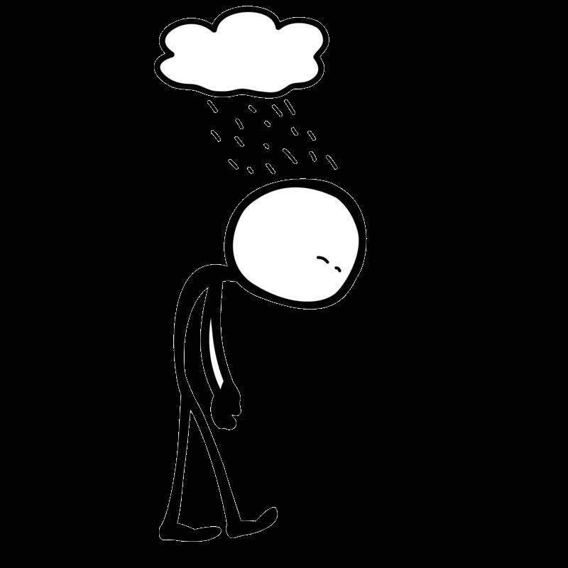 Depression clipart clip art, Depression clip art Transparent.