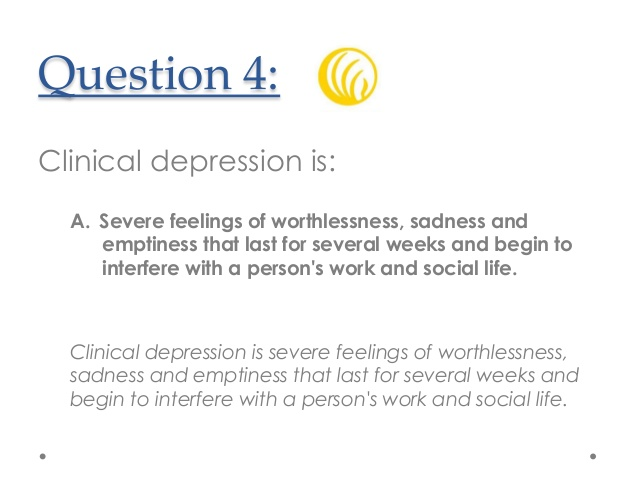 NAMI Florida: Mental Health Awareness Quiz.