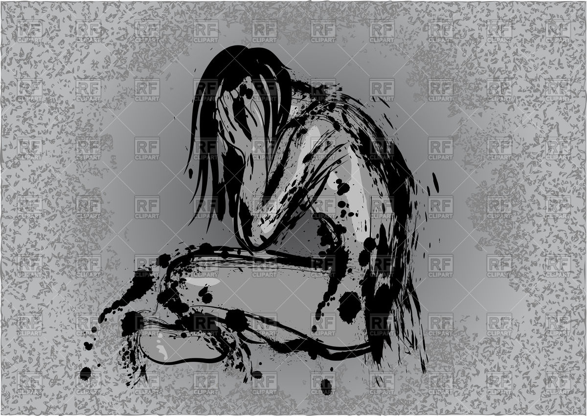 Depression conception Vector Image #89489.