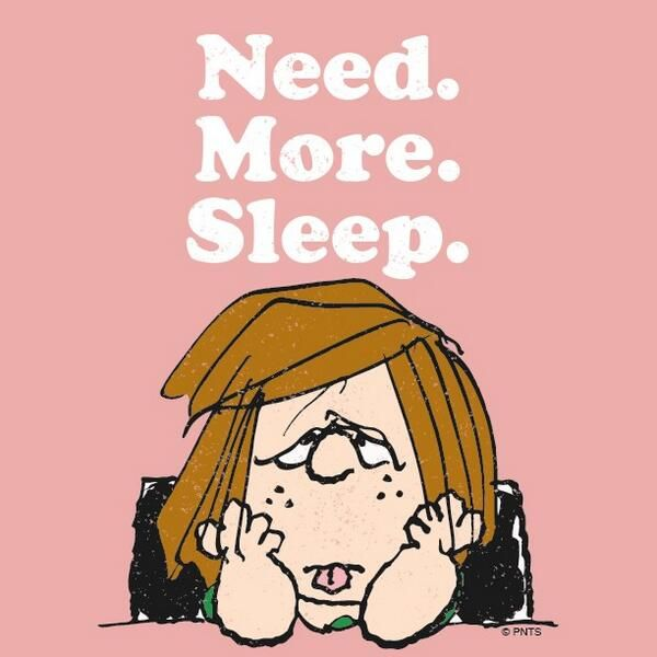 Sleep Deprivation Clip Art.
