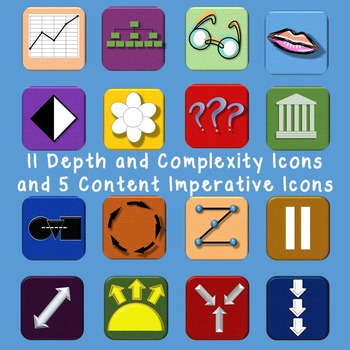 Depth and Complexity Clip Art.